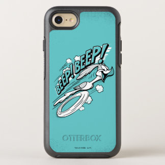 "ROAD RUNNER™ ""BEEP BEEP!"" Halftone OtterBox Symmetry iPhone 8/7 Case"