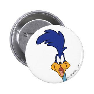 ROAD RUNNER™ Face 6 Cm Round Badge