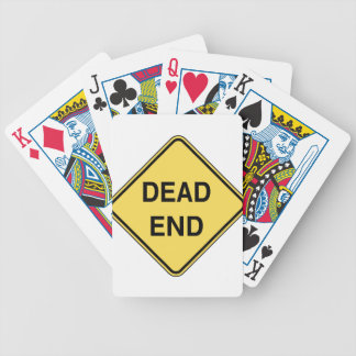 Road Sign - Dead End Deck Of Cards
