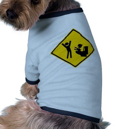 Road Sign Poop Goblin 1 Pet T-shirt