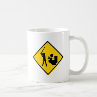 Road Sign Poop Goblin 2 Basic White Mug
