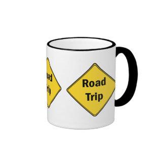 Road Sign- Road Trip Coffee Mug