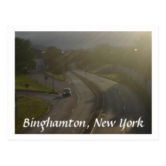 Road, Spring Postcard