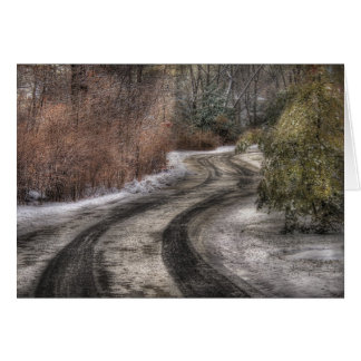 Road - The hidden road Greeting Card