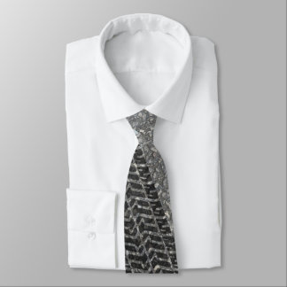 Road Tire Tracks Novelty Tie