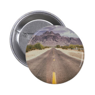 Road to nowhere 6 cm round badge