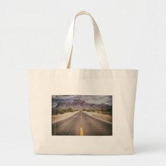 Road to nowhere jumbo tote bag