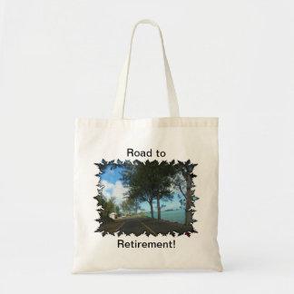Road to Retirement Tote Bag