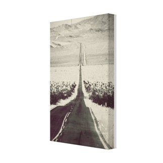 Road to the Death Valley Canvas Print