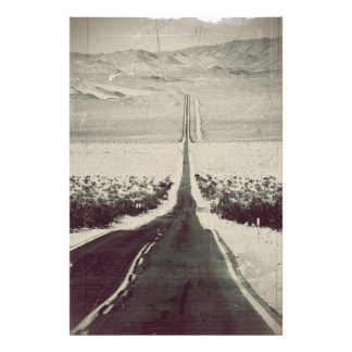 Road to the Death Valley Photo Print