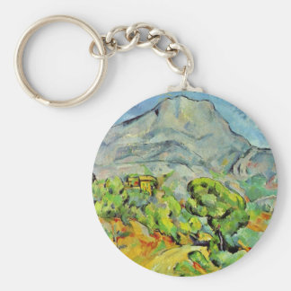 Road To The Montagne Sainte-Victoire Key Ring