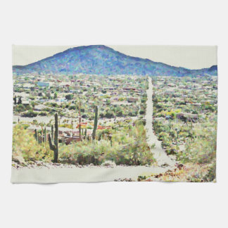 Road to Tonto Painting Kitchen Towel