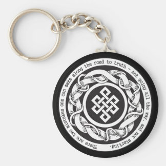 Road to Truth Endless Knot Key Ring