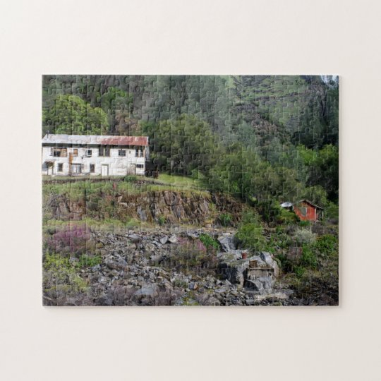 Road to Yosemite Jigsaw Puzzle