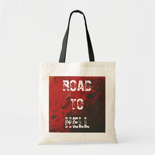ROAD TON OF BRIGHT TOTE BAGS