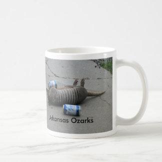 Road Trip, Arkansas Ozarks Basic White Mug