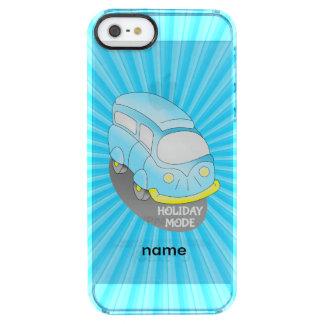 Road Trip Blue Van Clear iPhone SE/5/5s Case