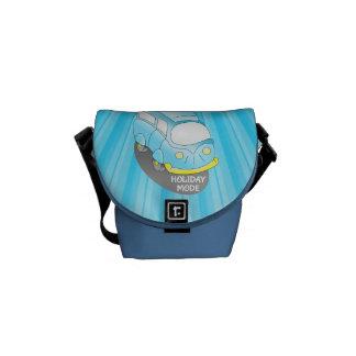 Road Trip Blue Van Commuter Bags