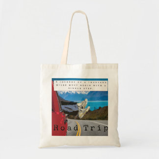 road trip journey tote bag
