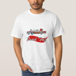 Road Trip Retro Style T-Shirt Vacation Souvenir