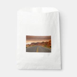Road trip sunset favour bag