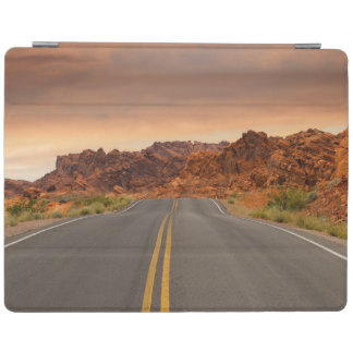 Road trip sunset iPad cover