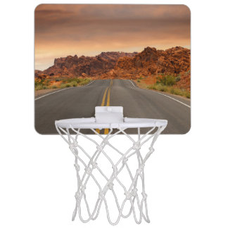 Road trip sunset mini basketball hoop