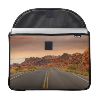 Road trip sunset sleeve for MacBooks