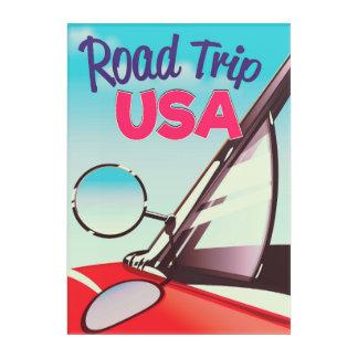 Road Trip USA Acrylic Wall Art