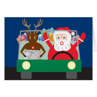 Road Trip with Greeting Card