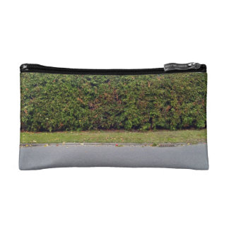 Road with hedges cosmetic bag