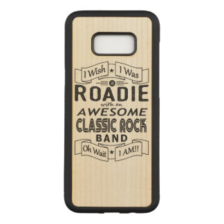 ROADIE awesome classic rock band (blk) Carved Samsung Galaxy S8+ Case