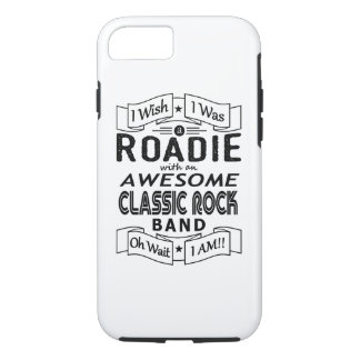 ROADIE awesome classic rock band (blk) iPhone 8/7 Case