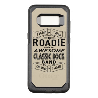 ROADIE awesome classic rock band (blk) OtterBox Commuter Samsung Galaxy S8 Case