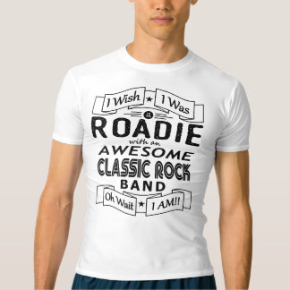 ROADIE awesome classic rock band (blk) T-Shirt
