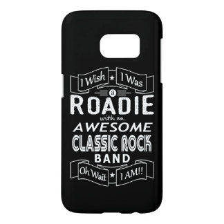 ROADIE awesome classic rock band (wht)