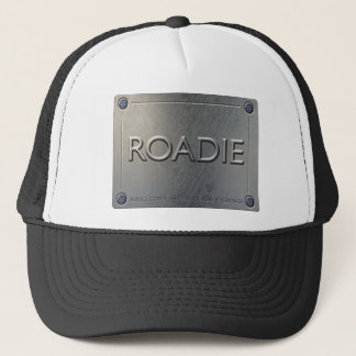 ROADIE Cap - Metal Plate Design.
