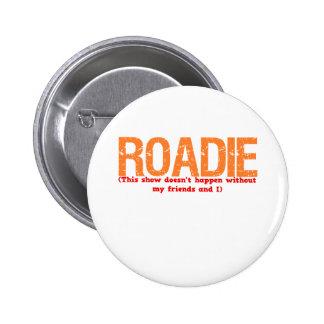 Roadie Description 6 Cm Round Badge