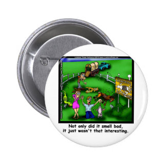 Roadkill Petting Zoo Funny Tees & Gifts 6 Cm Round Badge