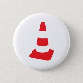 roadmarker traffic cone roadwork 6 cm round badge