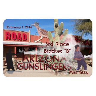 Roadrunner Saloon Bracket B 3rd Place Magnet