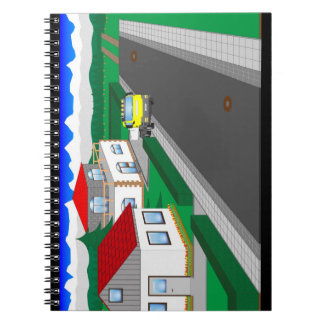 Roads and building of houses notebooks