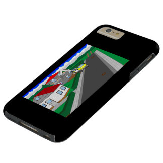 Roads and building of houses tough iPhone 6 plus case
