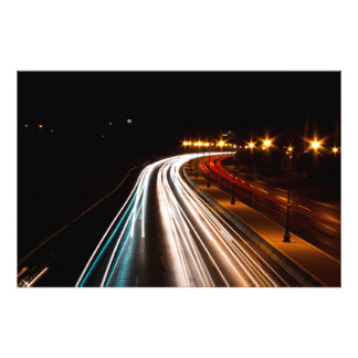 roads photo print