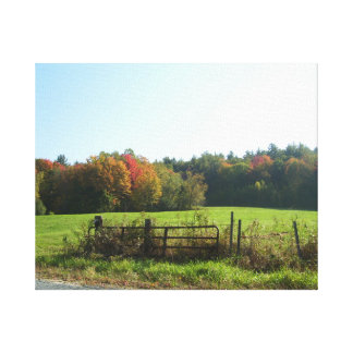 Roadside View Canvas Wall Art Gallery Wrapped Canvas