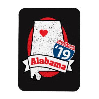 Roadtrip '19 Alabama - dark Magnet