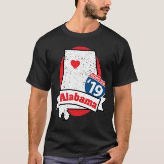 Roadtrip Alabama '19 T-shirt (black)