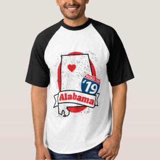 Roadtrip Alabama '19 T-shirt (ragland)