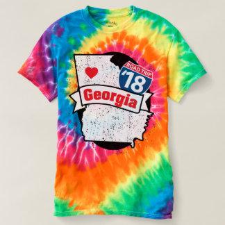 Roadtrip Georgia '18 T-shirt (tie-dye)