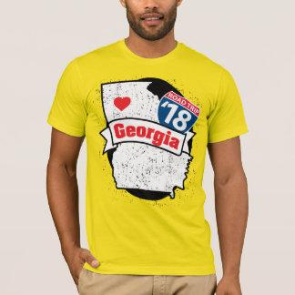 Roadtrip Georgia '18 T-shirt (yellow)